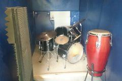Die Entstehung unsers Schlagzeugraums
