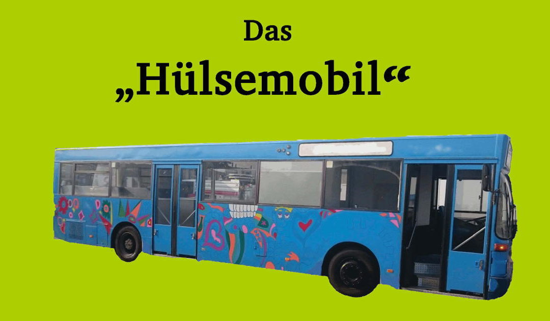 """""""Hülsemobil"""": Eröffnungsfest für ehemaligen, umgebauten Linienbus"""