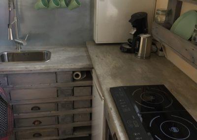 Die Küchennische in der Ladestation