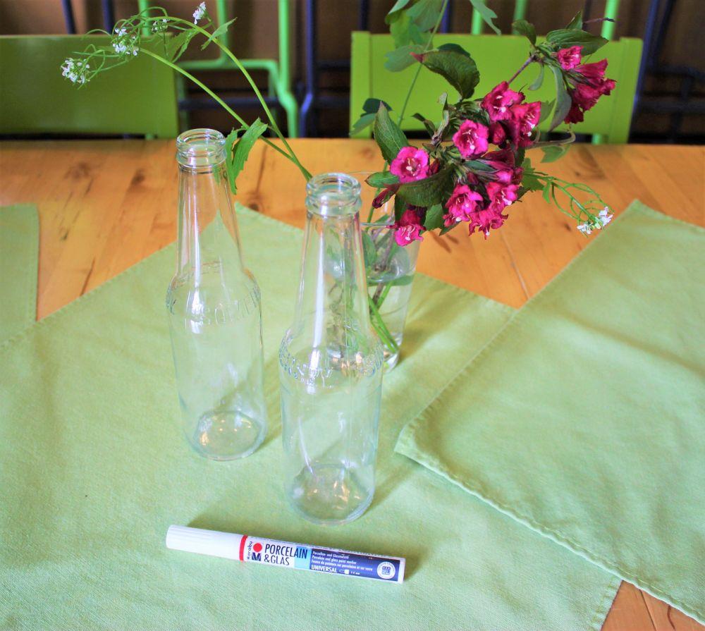 Hippie Flaschen - 1 Material