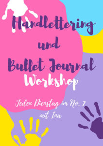 Handlettering und Bullet Journal Workshop
